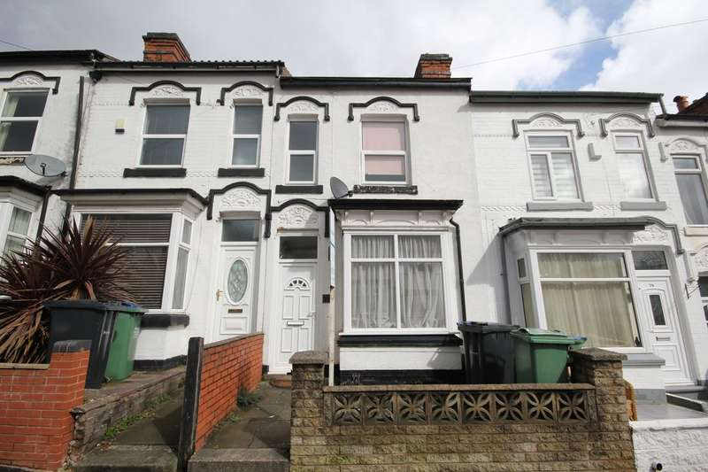 2 Bedrooms Terraced House for rent in Linden Road, Bearwood, B66
