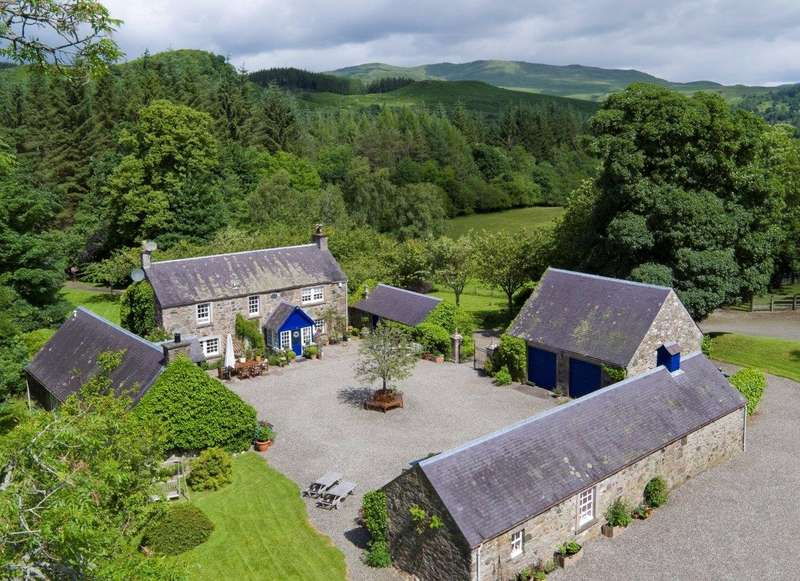 Farm Commercial for sale in Wester Gartchonzie, Callander, Stirlingshire, FK17