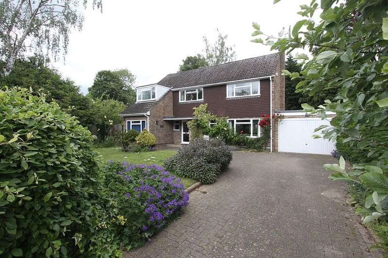 4 Bedrooms Detached House for sale in Hillview Close, Tilehurst, Reading, Berkshire, RG31 6YX