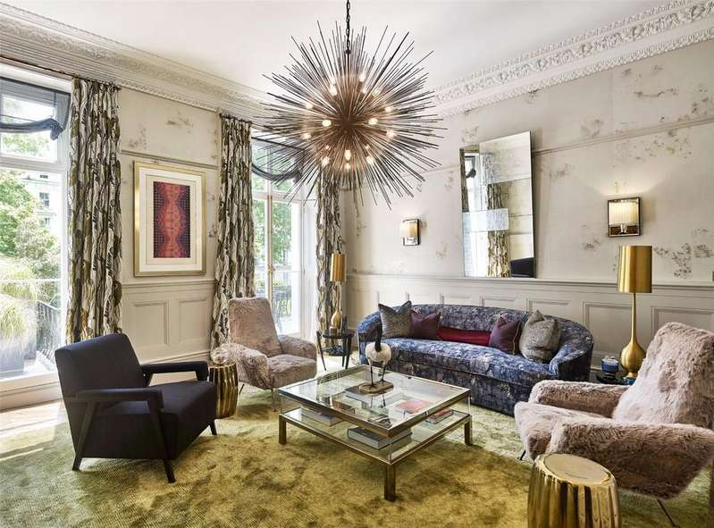 4 Bedrooms Maisonette Flat for sale in Leinster Square, London, W2