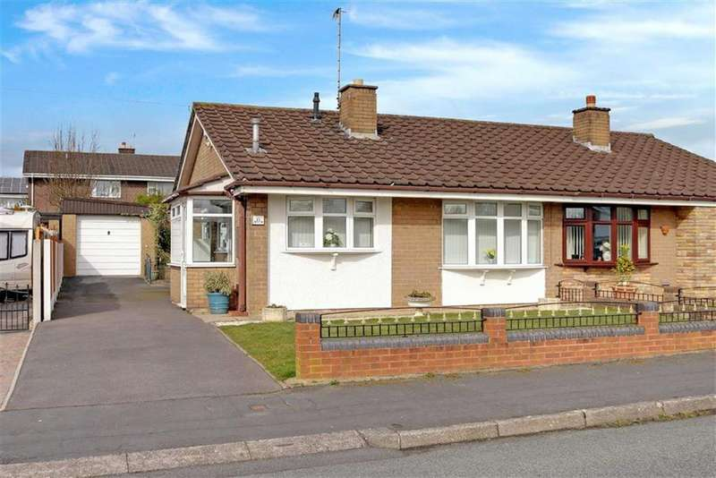 2 Bedrooms Semi Detached Bungalow for sale in Masefield Road, Blurton, Stoke-on-Trent