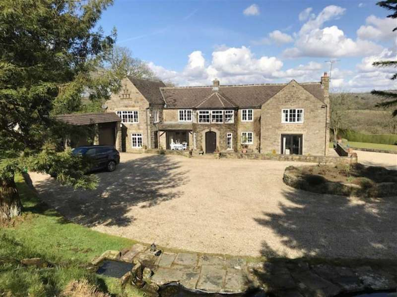 4 Bedrooms Farm House Character Property for sale in Vernon Lane Farm, Robridding, Ashover, Chesterfield, Derbyshire, S45