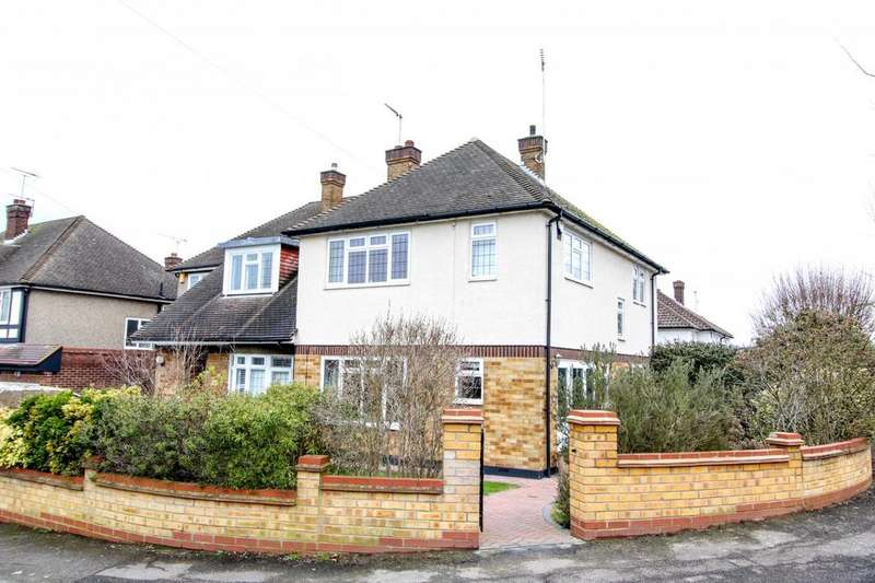 3 Bedrooms Semi Detached House for sale in Shevon Way, Brentwood, Essex, CM14