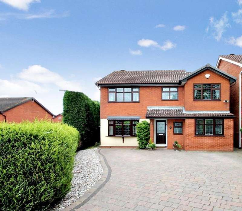 4 Bedrooms Detached House for sale in Kensington Place, Cannock