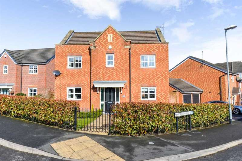 4 Bedrooms Detached House for sale in Mansfield Grove, Stoke-On-Trent