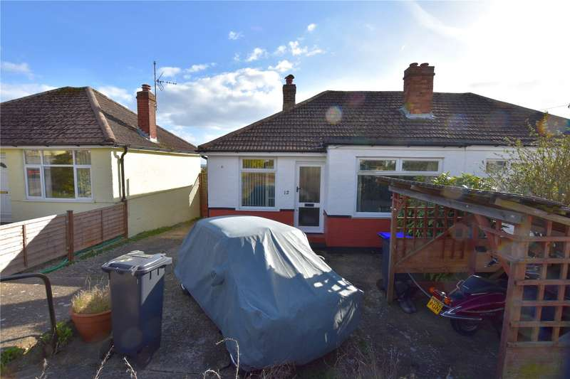 2 Bedrooms Semi Detached Bungalow for sale in Howard Road, Sompting, West Sussex, BN15