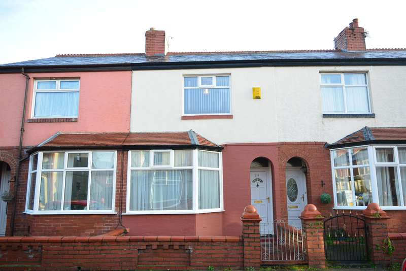 2 Bedrooms Terraced House for sale in Stamford Avenue, South Shore, Blackpool, FY4 2BJ