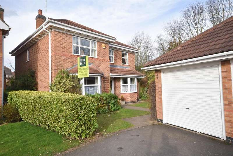 4 Bedrooms Detached House for sale in Braefell Close, West Bridgford, Nottingham