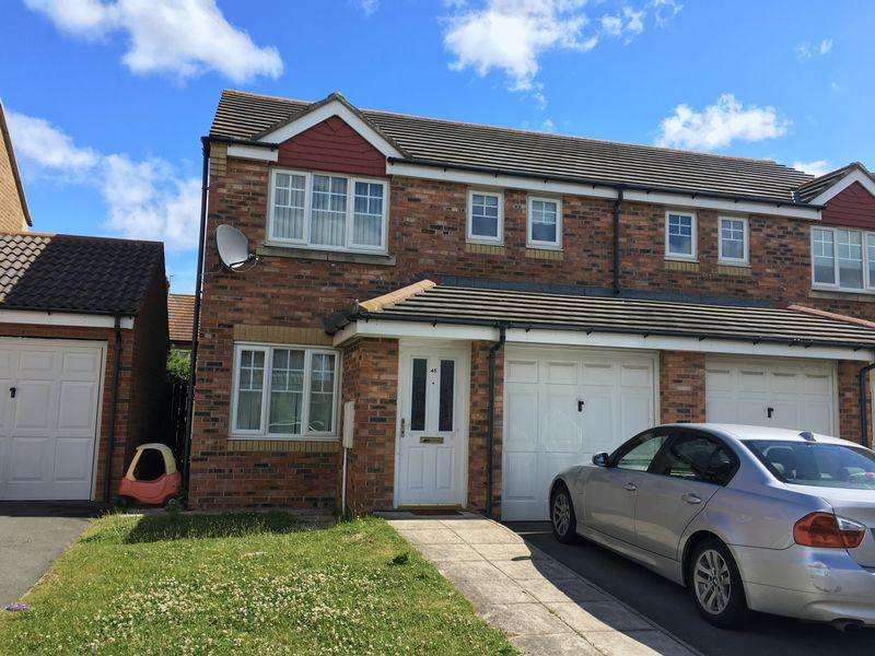 3 Bedrooms Semi Detached House for sale in Sedgewick Close, Hartlepool, TS24