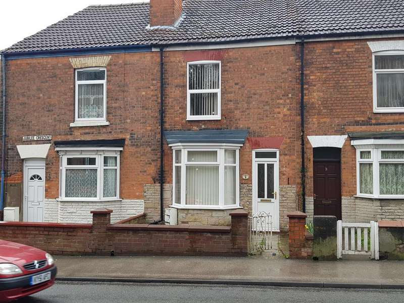 2 Bedrooms Terraced House for sale in Jubilee Crescent, Gainsborough, DN21 2HJ