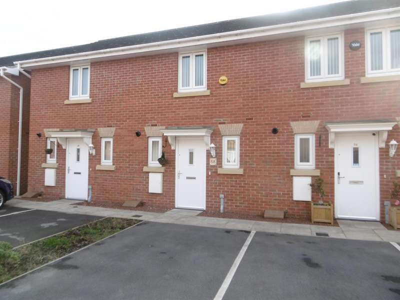 2 Bedrooms Terraced House for sale in Sunningdale Way, Gainsborough, DN21 1JE