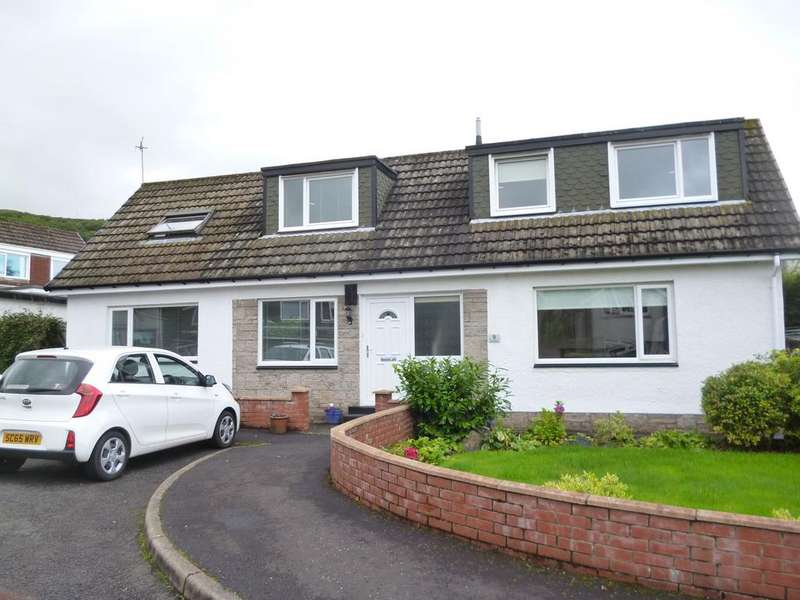 4 Bedrooms Detached Bungalow for sale in 9 Stakehill, Largs, KA30 9NQ