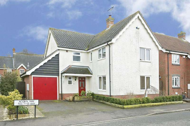 4 Bedrooms Detached House for sale in Acorn Way, Dereham
