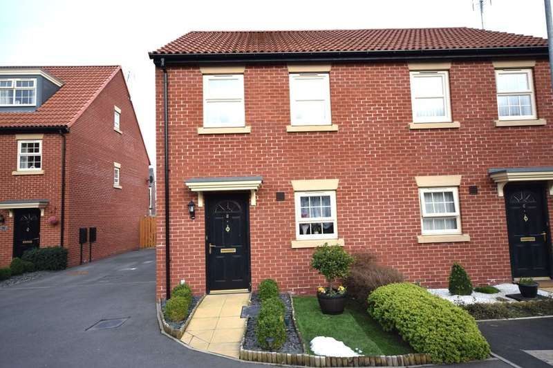 2 Bedrooms Semi Detached House for sale in Windmill Close, Sutton-In-Ashfield, NG17