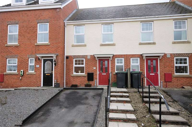 2 Bedrooms Terraced House for sale in Dorset Crescent, Moorside, Consett, DH8