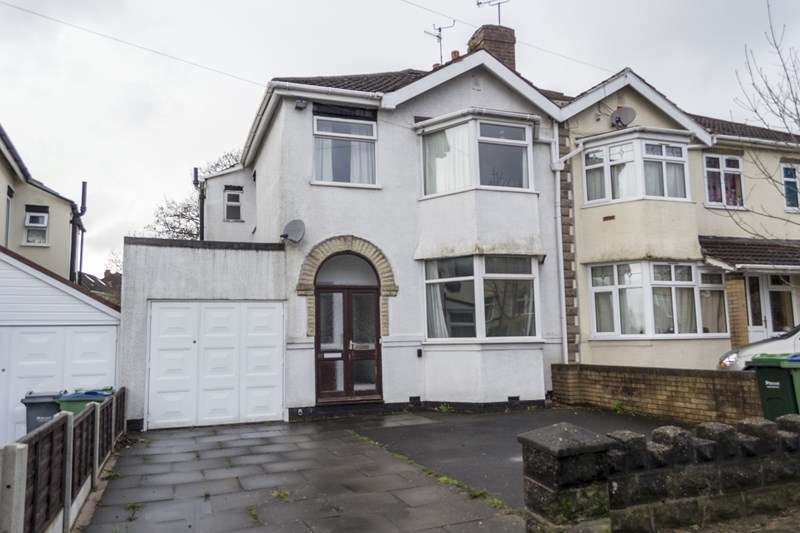 3 Bedrooms Semi Detached House for sale in Stanley Road, Oldbury