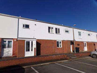 4 Bedrooms Terraced House for sale in Himbleton Close, Redditch, Worcestershire