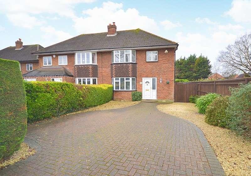 3 Bedrooms Semi Detached House for sale in Upper Halliford