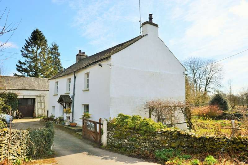 3 Bedrooms Detached House for sale in High Greenriggs, Underbarrow, Kendal