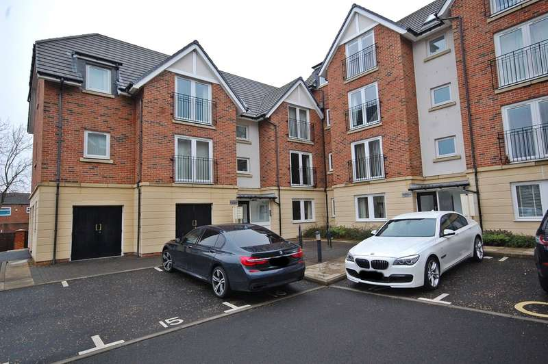 2 Bedrooms Flat for sale in Shepherds Court, Gilesgate, Durham