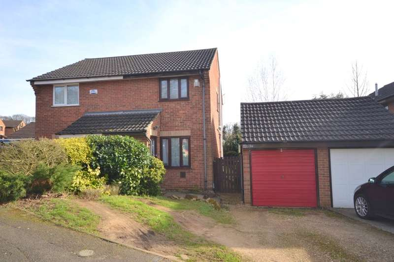 2 Bedrooms Semi Detached House for sale in Watermeadow Drive, Watermeadow, Northampton, NN3