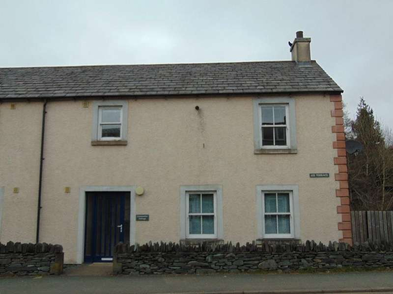 3 Bedrooms End Of Terrace House for sale in Loweswater Cottage, Lee Terrace, Penrith Road, Keswick, CA12 4NE