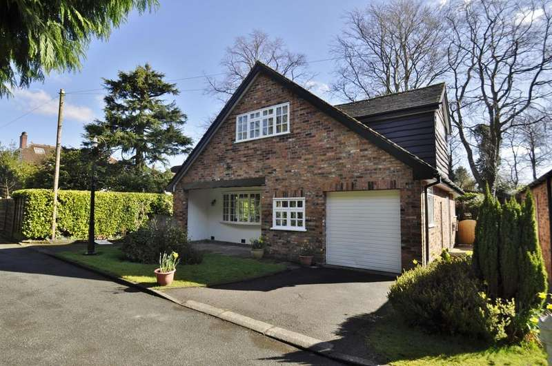 4 Bedrooms Detached House for sale in The Nook Ogden Road, Bramhall
