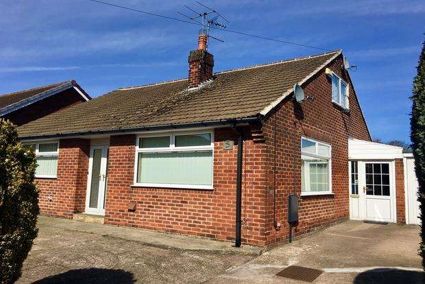3 Bedrooms Bungalow for sale in Central Drive, Clipstone Village, Mansfield, NG21