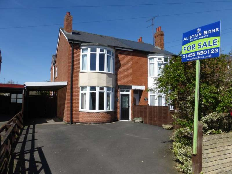 3 Bedrooms Semi Detached House for sale in Old Cheltenham Road, Longlevens, Gloucester, GL2
