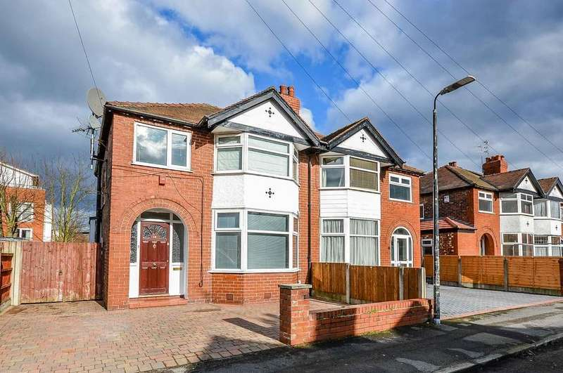 3 Bedrooms Semi Detached House for sale in Upton Drive, Timperley