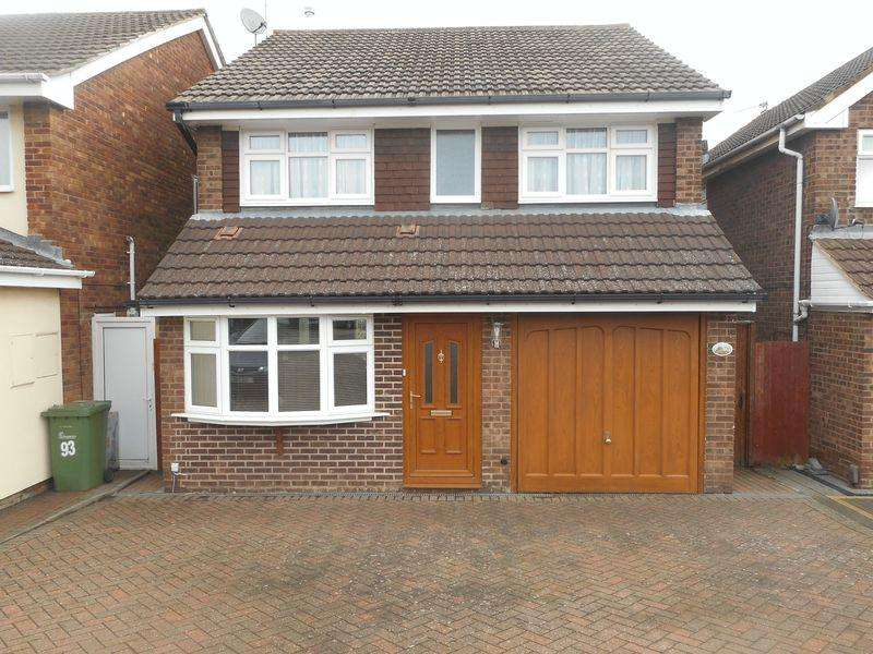3 Bedrooms Detached House for sale in Shakespeare Drive, Nuneaton