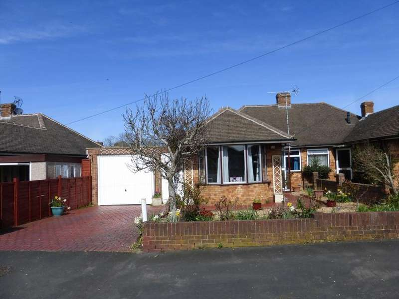 2 Bedrooms Semi Detached Bungalow for sale in Zoons Road, Hucclecote, Gloucester, GL3