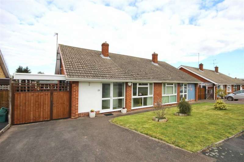 3 Bedrooms Semi Detached Bungalow for sale in Springbank Road, Springbank, Cheltenham, GL51