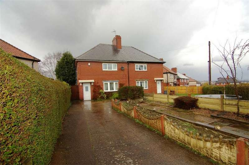2 Bedrooms Semi Detached House for sale in Goodyear Crescent, Wombwell, BARNSLEY, South Yorkshire