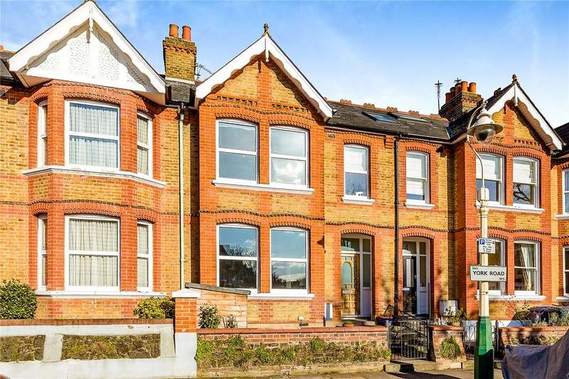 4 Bedrooms Terraced House for sale in York Road, South Ealing, Ealing, London, W5