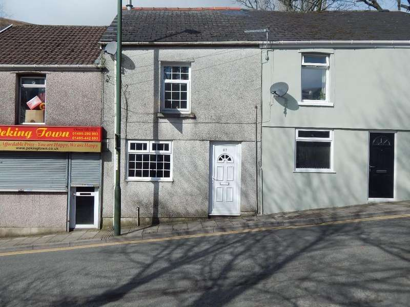 2 Bedrooms Terraced House for sale in High Street, Blaina