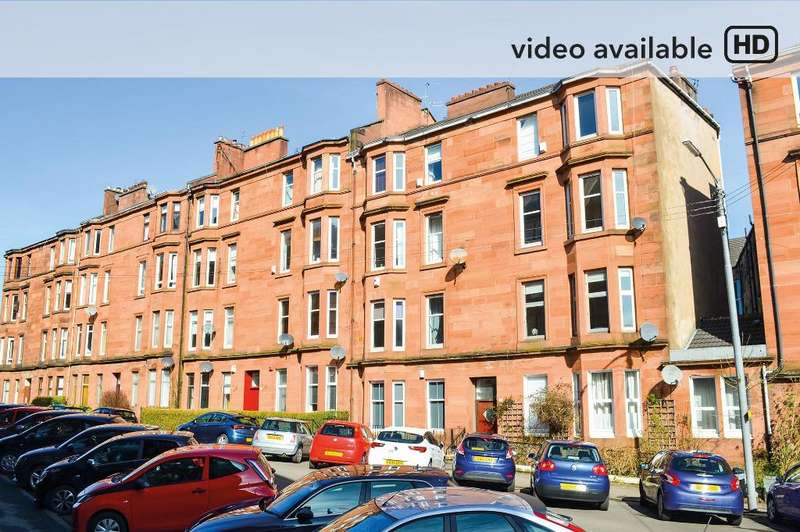 2 Bedrooms Flat for sale in Bolton Drive, Flat 2/1, Mount Florida, Glasgow, G42 9DR