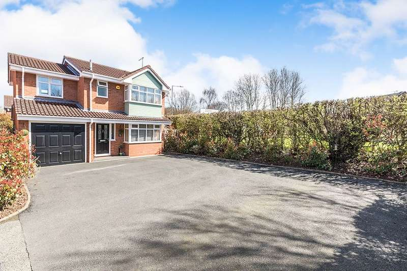 4 Bedrooms Detached House for sale in Middleton Gardens, Long Meadow, Worcester, WR4