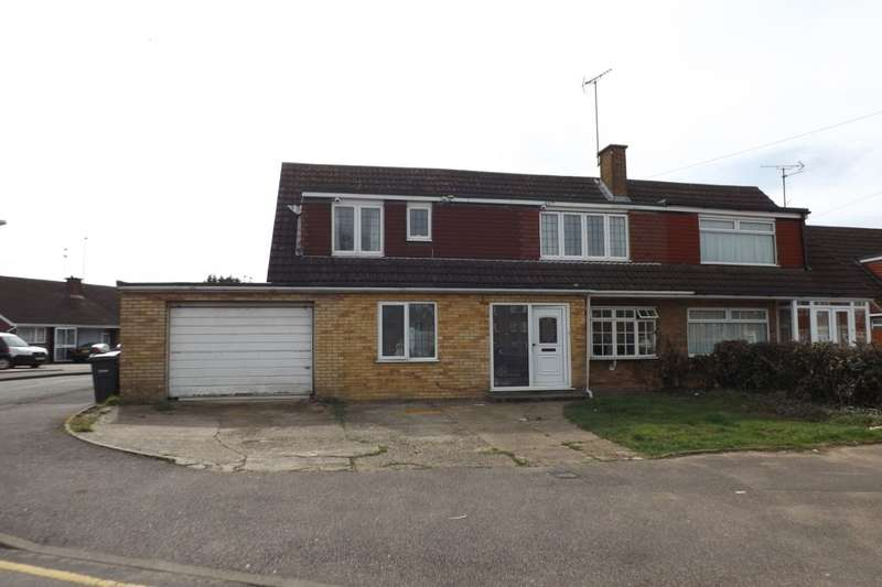 4 Bedrooms Semi Detached House for sale in Nappsbury Road, Luton, LU4