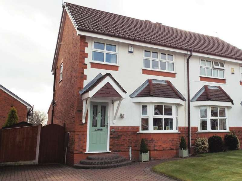 3 Bedrooms Semi Detached House for sale in Ancholme Close, Liverpool, L35