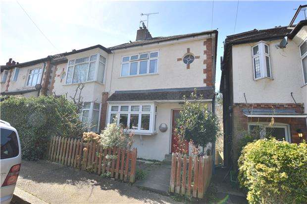 3 Bedrooms Semi Detached House for sale in Clarendon Road, SEVENOAKS, Kent, TN13 1ET