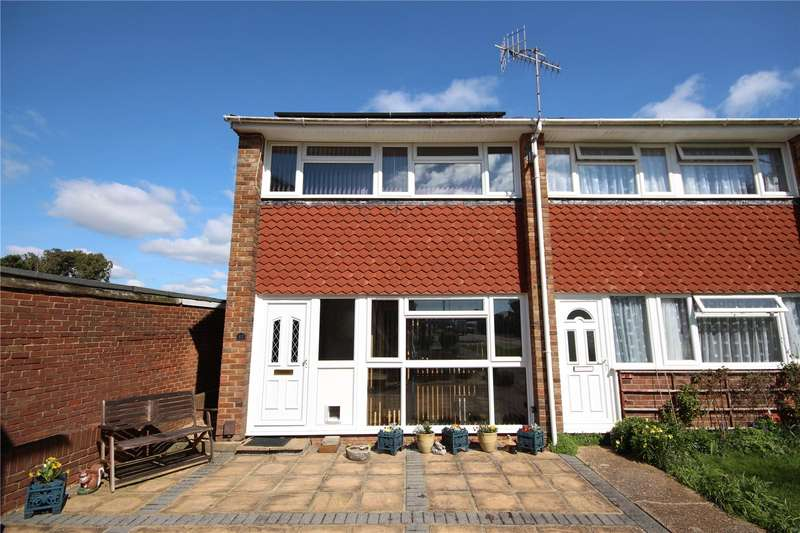 2 Bedrooms End Of Terrace House for sale in The Tynings, Lancing, West Sussex, BN15