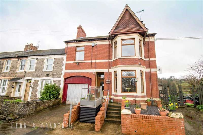 4 Bedrooms End Of Terrace House for sale in Drope Terrace, St George's-Super-Ely, Cardiff