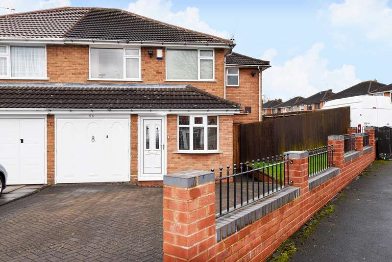 4 Bedrooms Semi Detached House for sale in Gibbs Hill Road, West Heath, Birmingham, B31