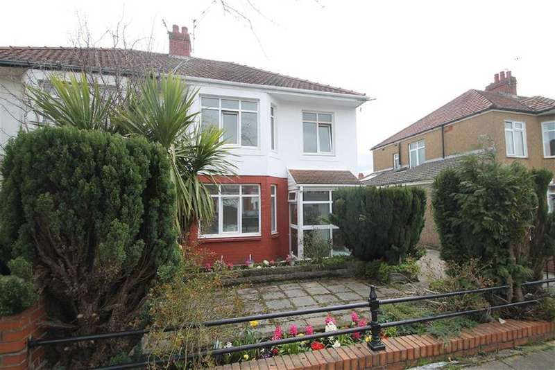 3 Bedrooms Semi Detached House for sale in St. Cadoc Road, Cardiff