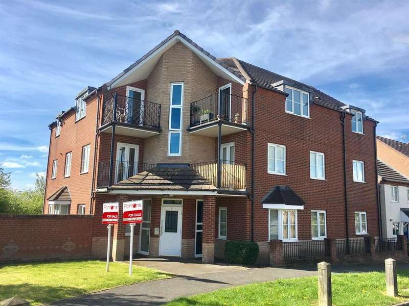 2 Bedrooms Apartment Flat for sale in Spruce Road, Nuneaton
