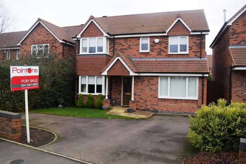 4 Bedrooms Detached House for sale in Weddington Road, Weddington