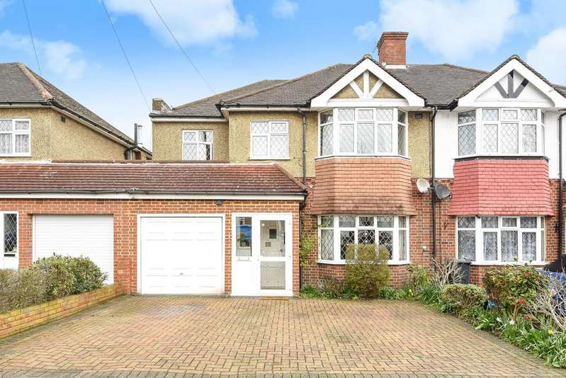 5 Bedrooms Semi Detached House for sale in Links View Road Shirley CR0