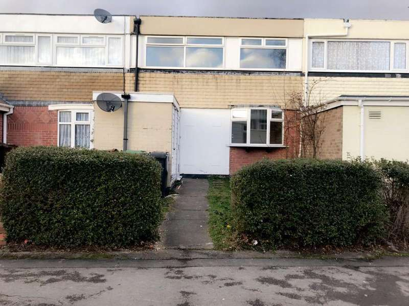 3 Bedrooms Terraced House for sale in Hilleys Croft, Chelmsley Wood B37 5BN