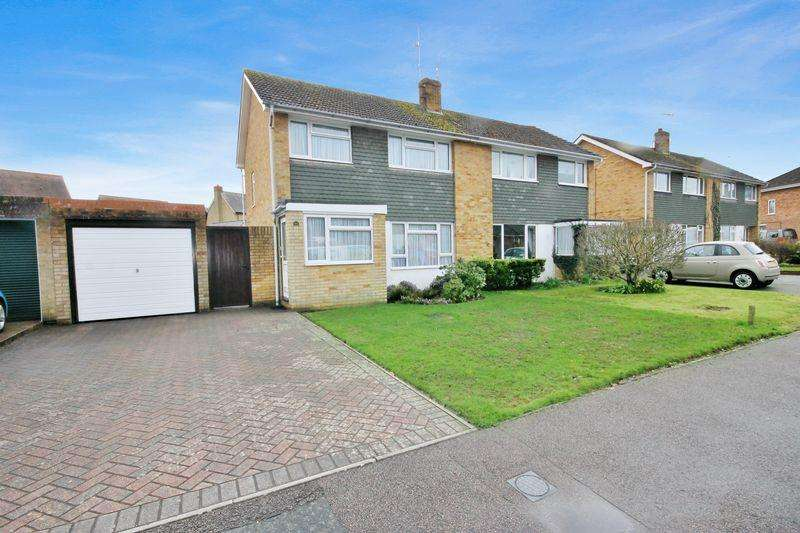 3 Bedrooms Semi Detached House for sale in Brookway, Burgess Hill, West Sussex